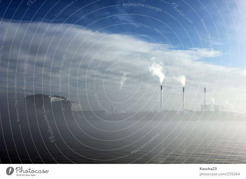 Architecture Power Logistics Harbour Navigation Chimney Capital city Industrial plant Outskirts