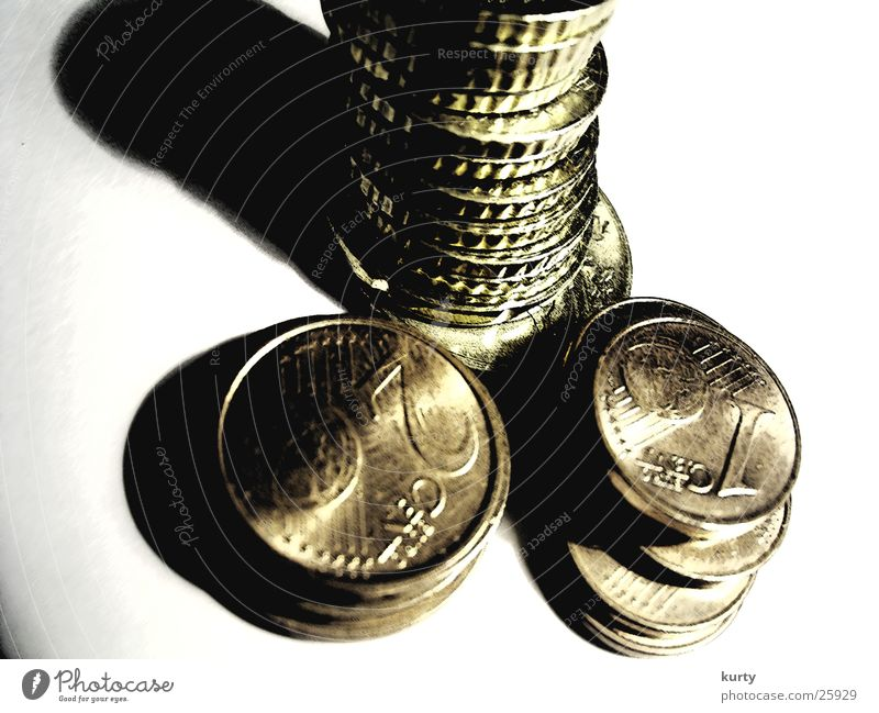 Money Tower Things Euro Coin Cent