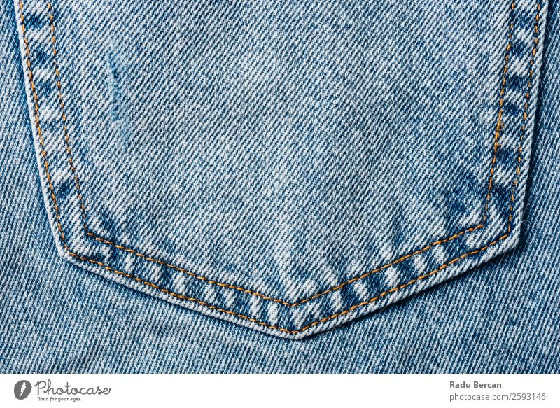 Jeans Pocket Closeup With Denim Texture Details pocket jean Background picture Blue Consistency Design Cloth Fashion Pattern Clothing Material textile Cotton