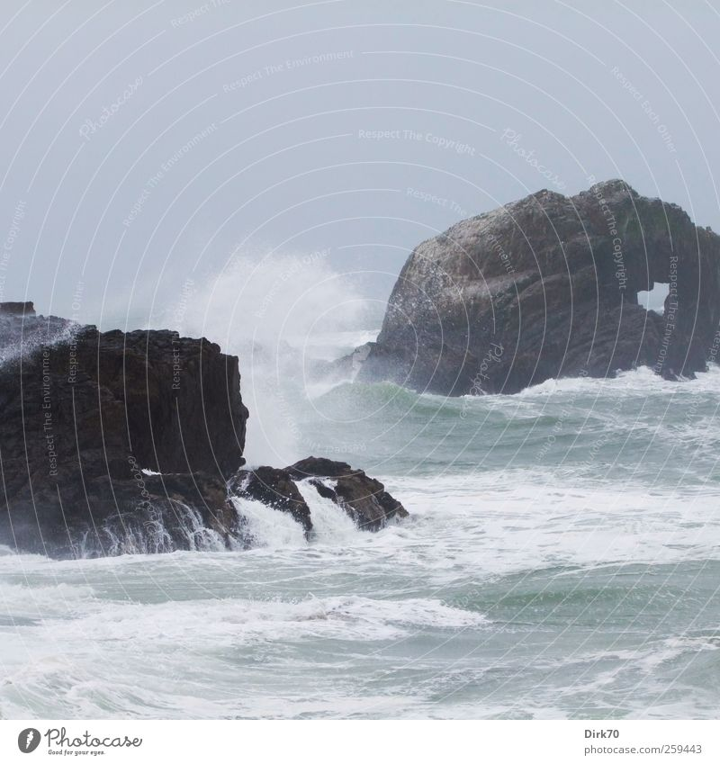 Nature Blue Water White Ocean Loneliness Gray Coast Rain Weather Brown Waves Wind Power Rock Energy