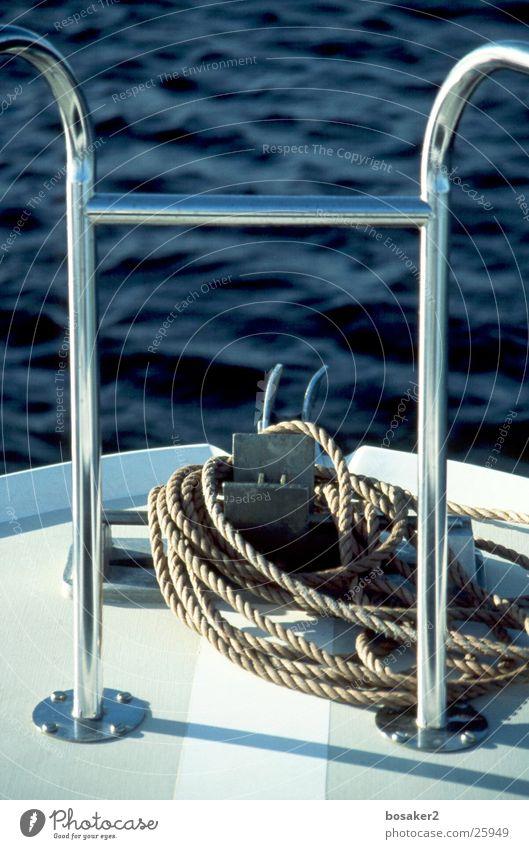 Water Ocean Blue Calm Lake Watercraft Rope