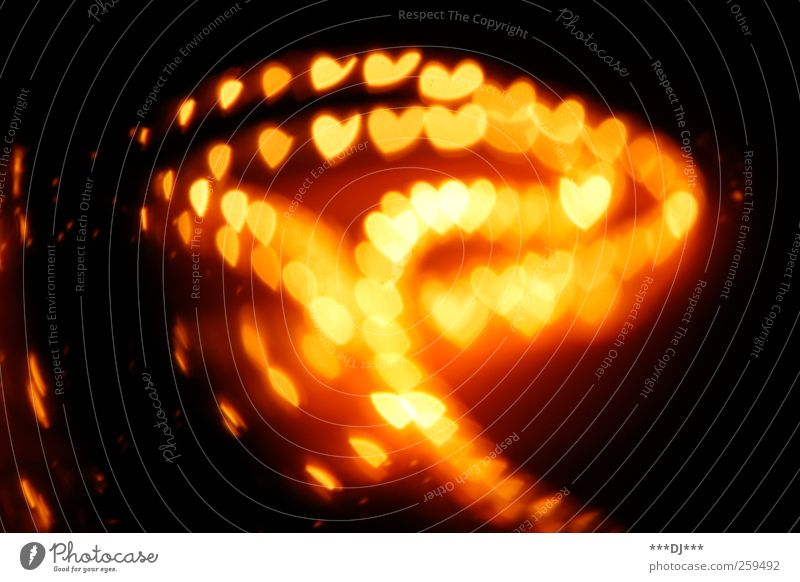 Confused heart come back ... Heart Touch Illuminate Exceptional Infinity Warmth Soft Multicoloured Yellow Gold Red Black Emotions Joie de vivre (Vitality) Trust