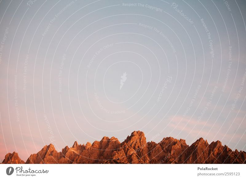 #A# Big Ones Art Esthetic Mountain Rock Alps Stony Federal State of Tyrol Sky Colour photo Subdued colour Exterior shot Detail Experimental Abstract Deserted