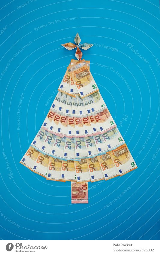 #A# Oh MoneyTree Art Work of art Esthetic Christmas & Advent Winter Christmas tree Card Financial institution Bank note Donation Monetary capital