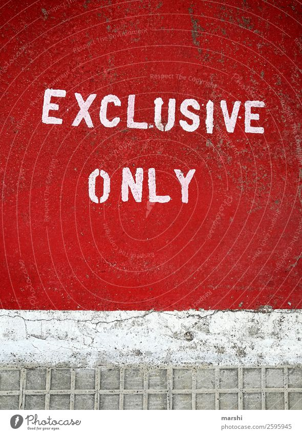 Red Street Graffiti Emotions Signage Digits and numbers Street art English Truth Warning sign Exclusive