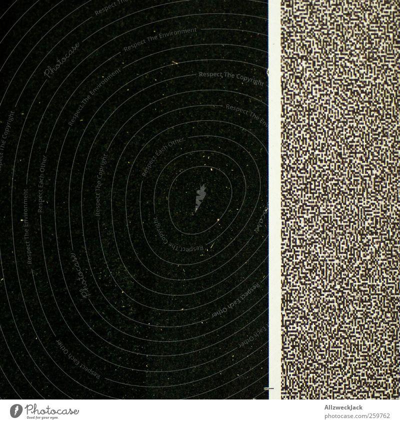 White Black Dark Line Esthetic Stripe Simple Chaos Trade Sharp-edged Complex Printed Matter Pixel Pre-press Test pattern