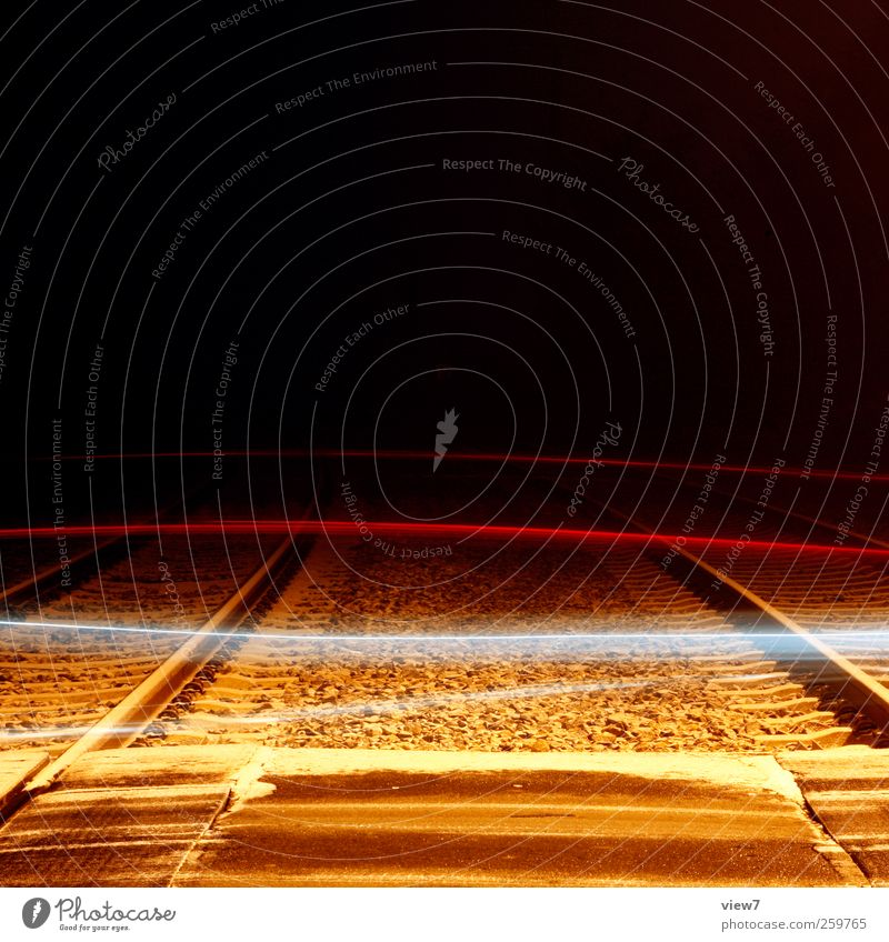 crossing Snow Snowfall Transport Means of transport Traffic infrastructure Street Crossroads Lanes & trails Rail transport Railroad Line Stripe Utilize Driving
