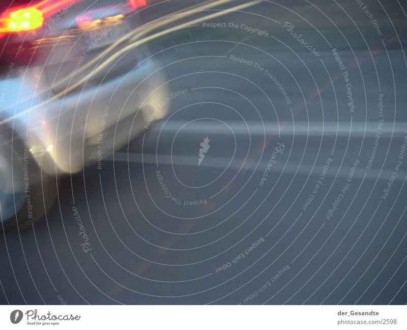 whack Long exposure Transport Speed Street Car Light