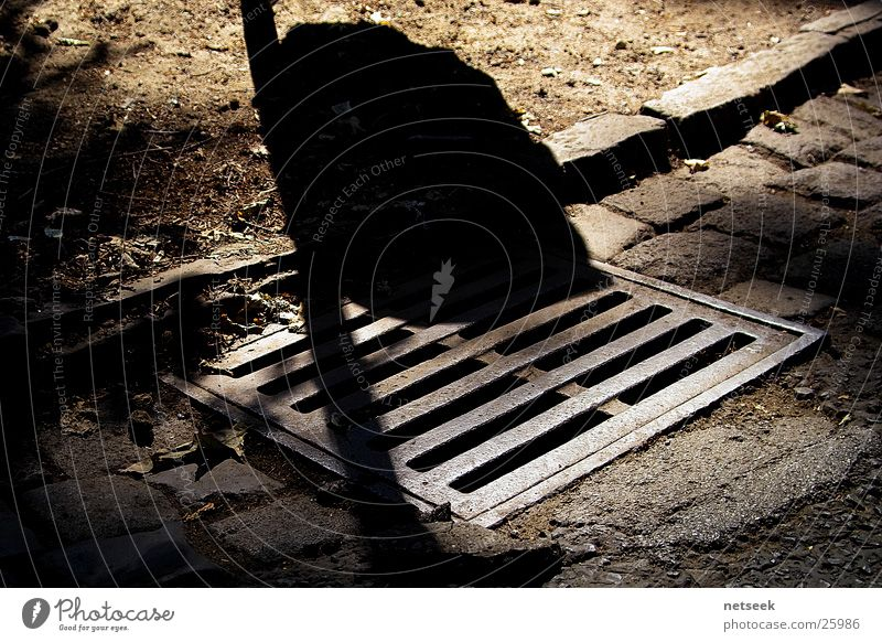 manhole cover Gully Steel Curbstone Curbside Industry Shadow