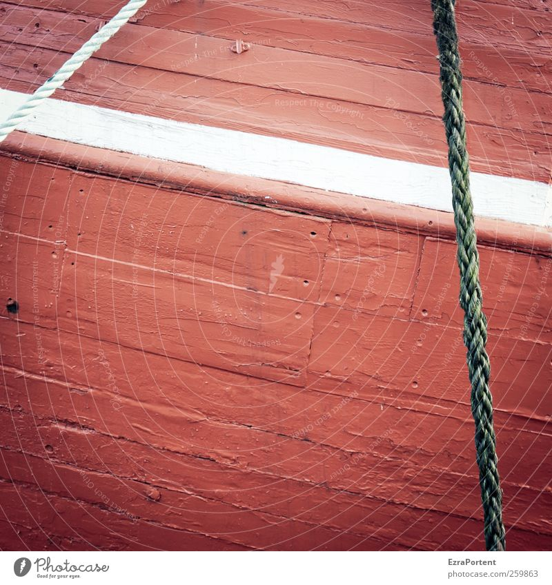 the white plank Baltic Sea Navigation Fishing boat Watercraft Rope Wood Red White Plank Hull Square Line North Ocean Paintwork Dye Abstract Colour photo