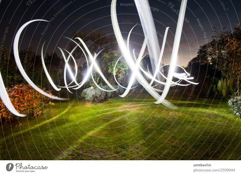 Striking turn signal Movement Indicator light Multicoloured Dynamics Fantasy Glittering Garden Art Light Visual spectacle Light painting Light show Line