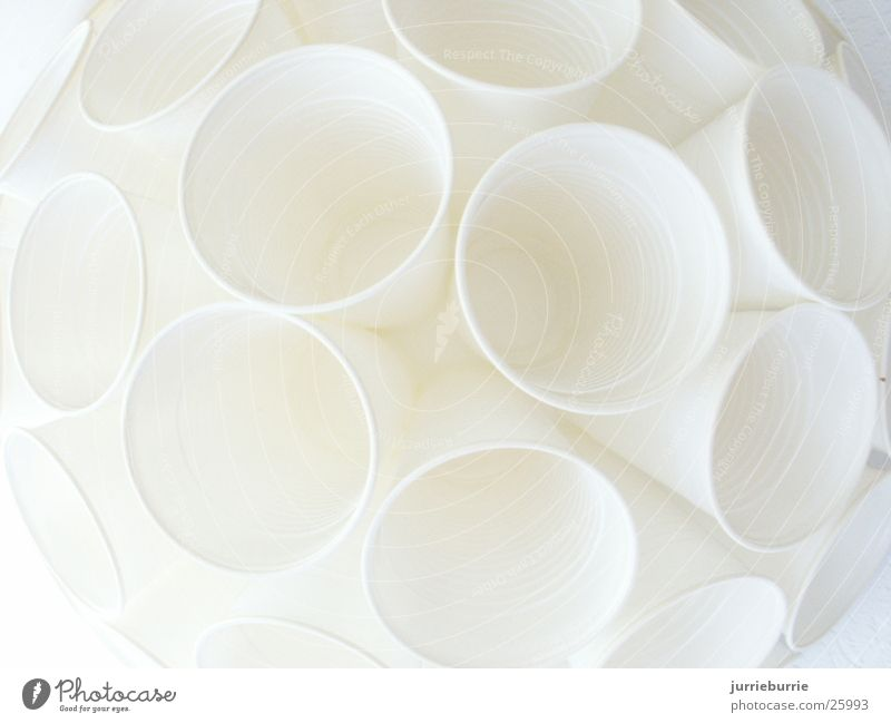 Beker-sphere Style Craft (trade) Piepschuimen convex body with cups unoccupied you clean clean you lift up