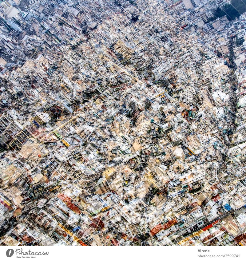it's a tight spot. Athens Town Capital city Downtown Populated House (Residential Structure) Living or residing Large Infinity Bright Cuddly Many Claustrophobia