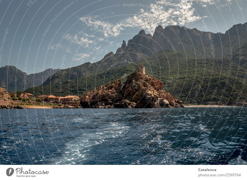 Sky Vacation & Travel Old Summer Blue Green Water Landscape Ocean Beach Mountain Coast Tourism Brown Rock Waves