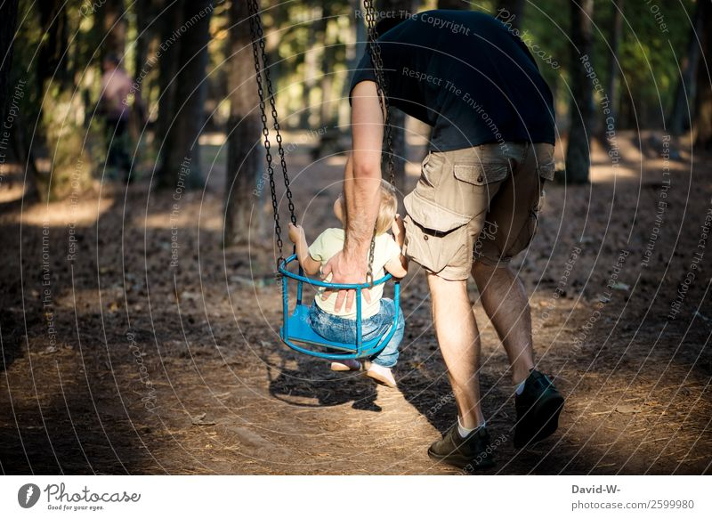 Carousel I Playing Adventure Parenting Human being Masculine Child Toddler Girl Boy (child) Man Adults Parents Father Infancy Life 2 Nature Autumn