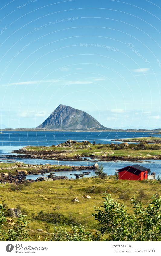 Limstrand pollen with house Arctic Ocean Europe Rock Vacation & Travel Fishery Fjord Sky Heaven Horizon Island Landscape Lofotes Maritime Nature Nordic Norway