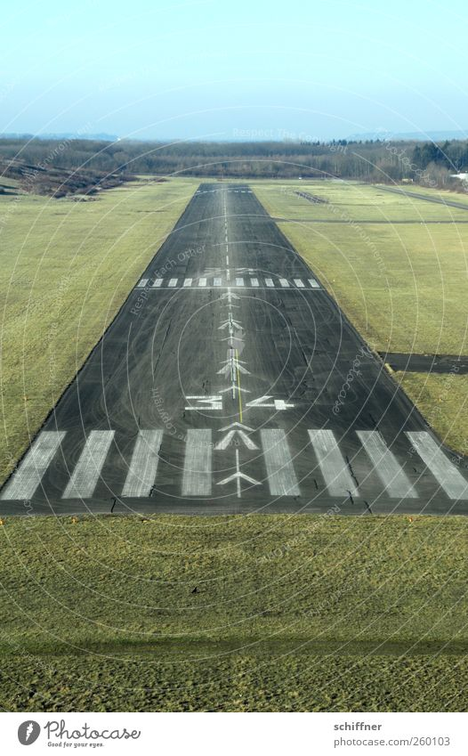 Meadow Flying Airplane Exceptional Aviation Target Arrow Direction Airplane landing Fear of flying Aim Runway Zebra crossing Landing Single-minded Exciting