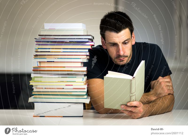 Human being Youth (Young adults) Man Young man Calm Adults Life School Masculine Success Study Book Academic studies Curiosity Reading Education