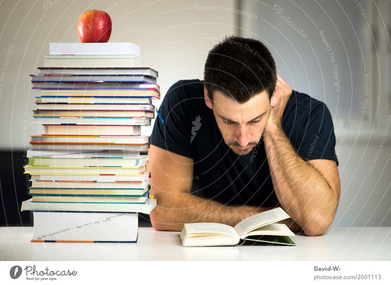 swotting Relaxation Calm Education School Study Apprentice Academic studies University & College student Examinations and Tests Business Human being Masculine
