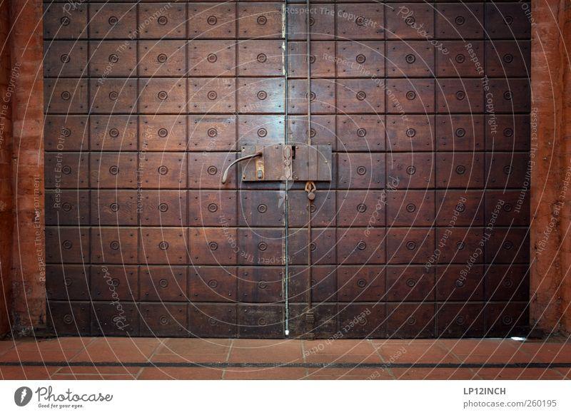House (Residential Structure) Dark Wood Building Door Fear Church Historic Lock Door handle Old town Front door Main gate