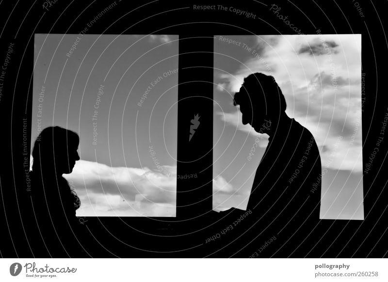 Human being White Joy Black Life Window Senior citizen Moody Family & Relations Time Open Masculine Mysterious Joie de vivre (Vitality) Frame Window pane