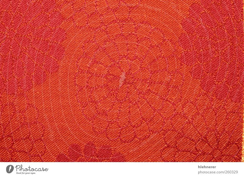 Red Fabric Colour Design Decoration Cloth Wallpaper Surface Consistency Weave