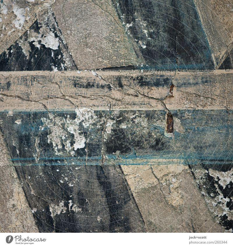 Ha-ha Wall (barrier) Wall (building) Stone Characters Line Stripe Old Authentic Historic Broken Near Brown Gray Black Moody Refrain Art Nostalgia Decline Past