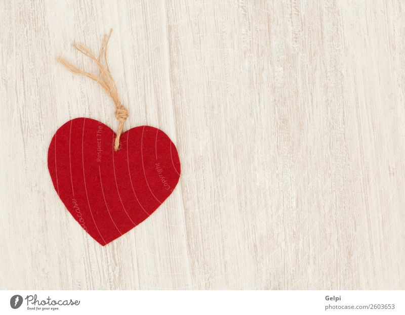 Valentine red hearts on grey wooden background Old Beautiful Red Wood Love Feasts & Celebrations Design Decoration Retro Modern Vantage point Table Heart