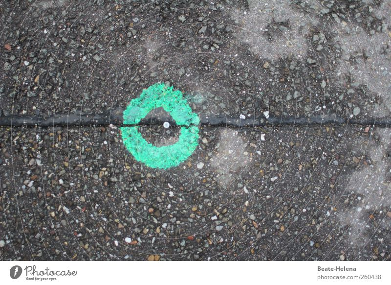 The Green Dot Campaign - join in and win! Environment Bad weather Rain Downtown Traffic infrastructure Road traffic Street Sign Line Circle Select Draw