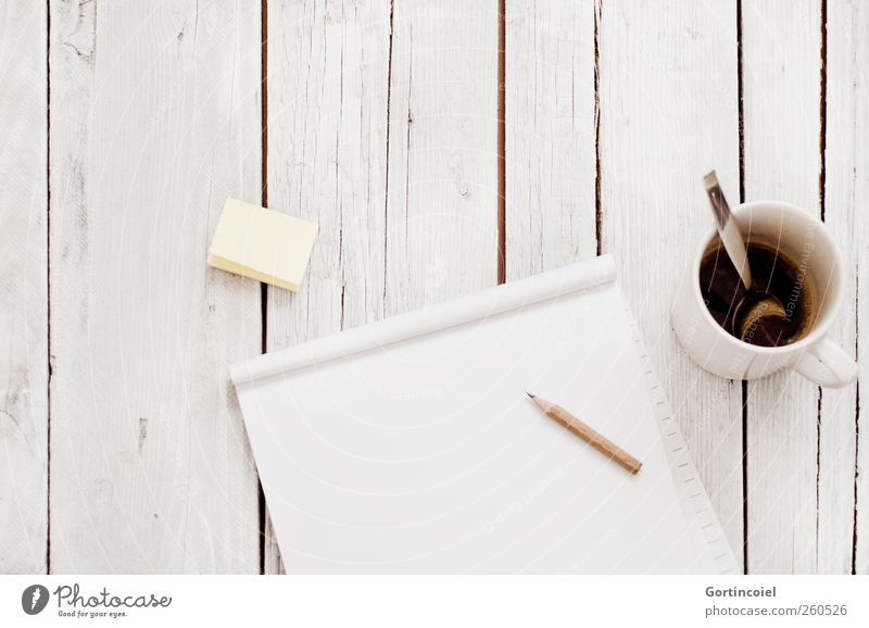 Bright Work and employment Academic studies Paper Coffee Education Creativity Draw Piece of paper Workplace Conceptual design Pencil Wooden table Office work