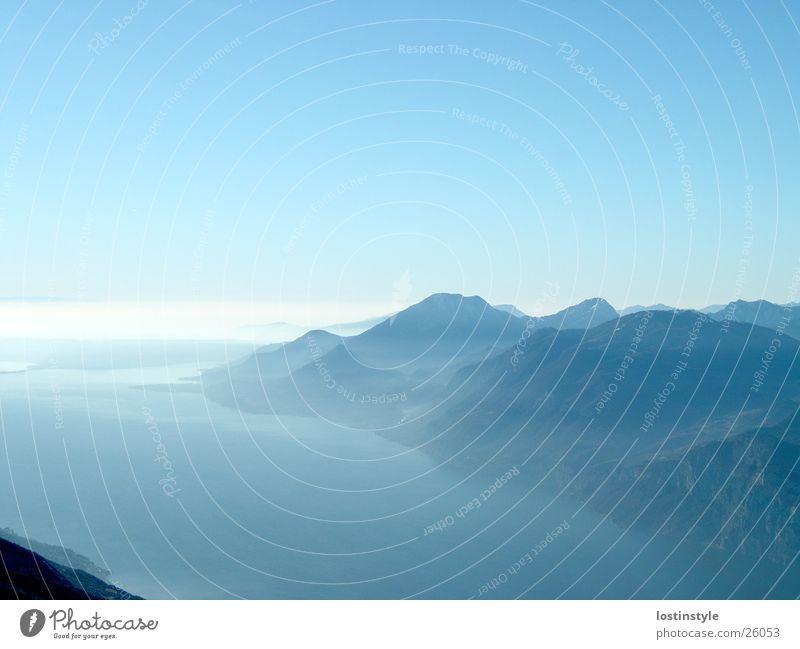 Mountain Lake Alps Lake Garda