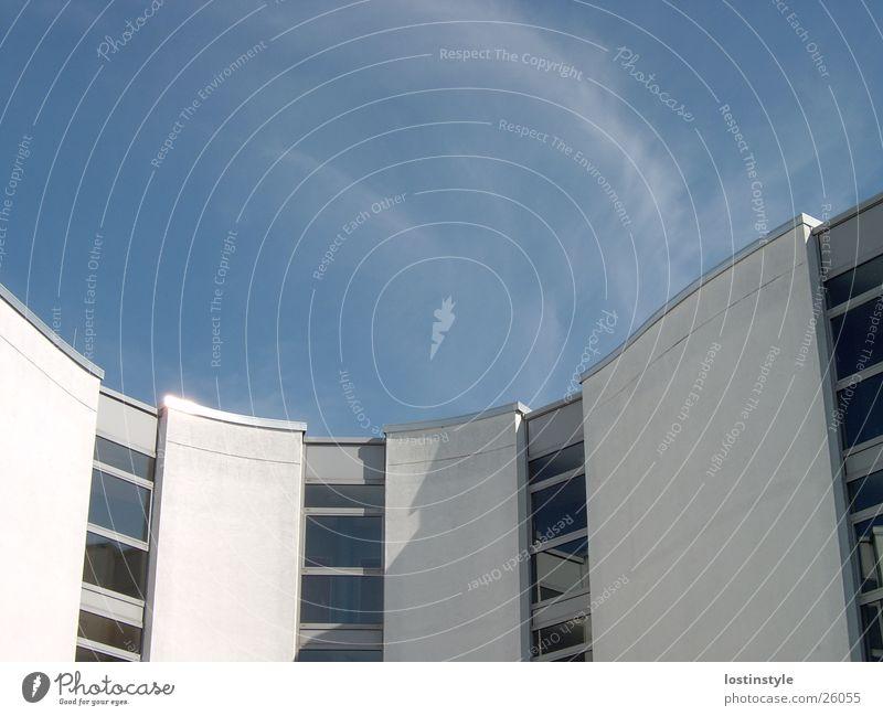 curve Building Architecture Sky School building