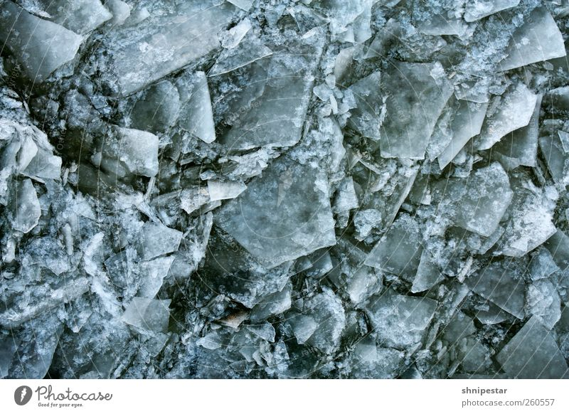 Nature Blue Water Winter Cold Environment Snow Berlin Gray Design Weather Ice Power Fantastic Broken Elements