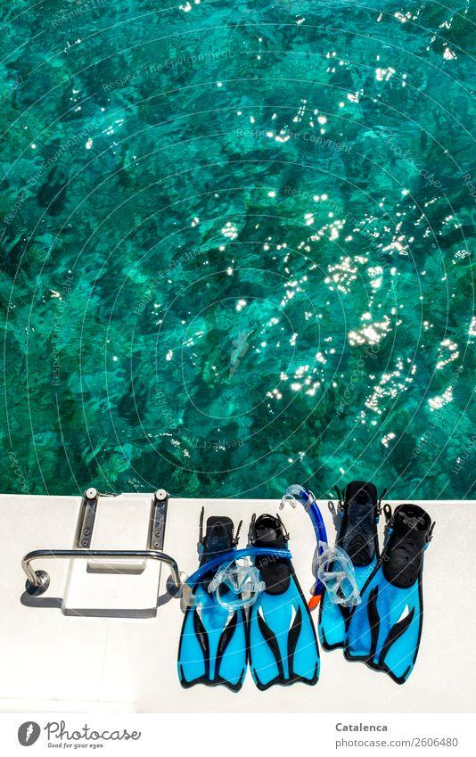 Vacation & Travel Summer Blue Water White Ocean Joy Black Sports Leisure and hobbies Illuminate Glittering Joie de vivre (Vitality) Beautiful weather Wet