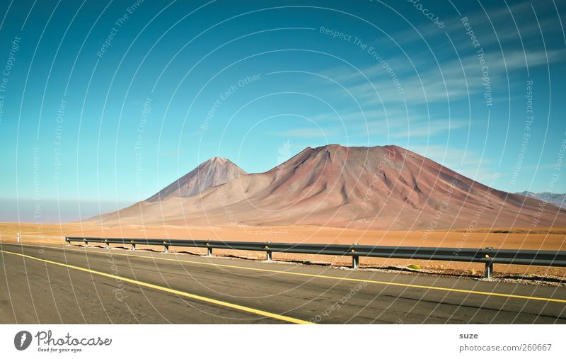 road trip Vacation & Travel Environment Nature Landscape Elements Earth Sky Summer Climate Beautiful weather Mountain Transport Traffic infrastructure