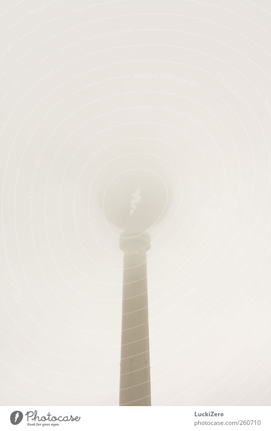 Sky Clouds Cold Berlin Architecture Gray Building Air Rain Weather Fog Exceptional Gloomy Tower Technology Telecommunications