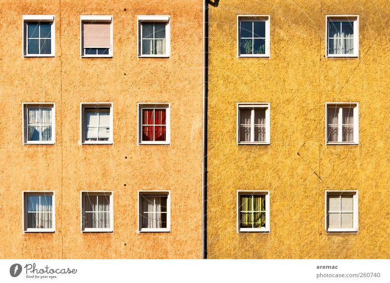 """9 : 6 Town Downtown House (Residential Structure) Building Architecture """"Residential house Apartment house"""" Wall (barrier) Wall (building) Window"""
