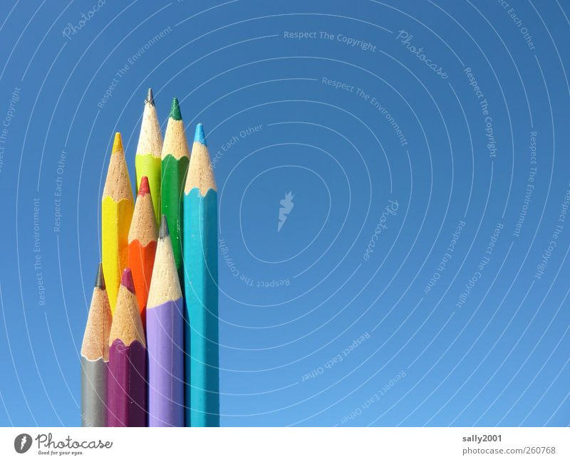 Sky Joy Dye Wood Art Happiness Esthetic Creativity Painting (action, artwork) Write Cloudless sky Draw Pen Work and employment Handicraft Pencil