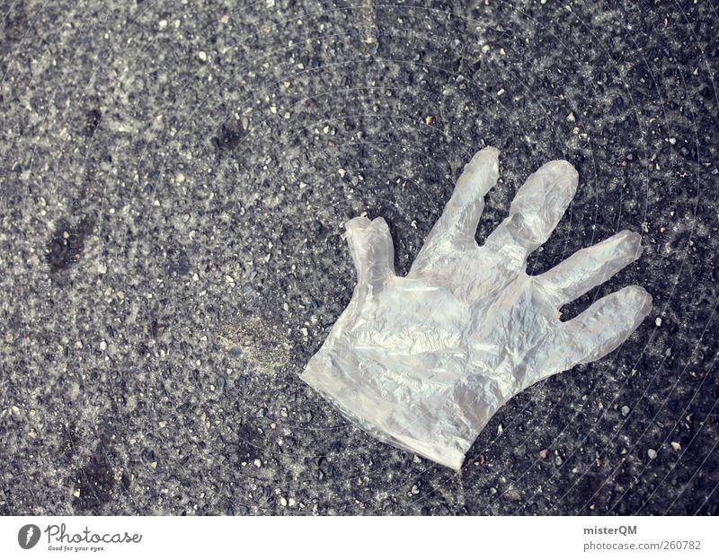 Crime scene. Art Esthetic Transport Gloves Murder Offense Criminality Crime prevention Police Force Clean Body care tools Packing film Floor covering Asphalt