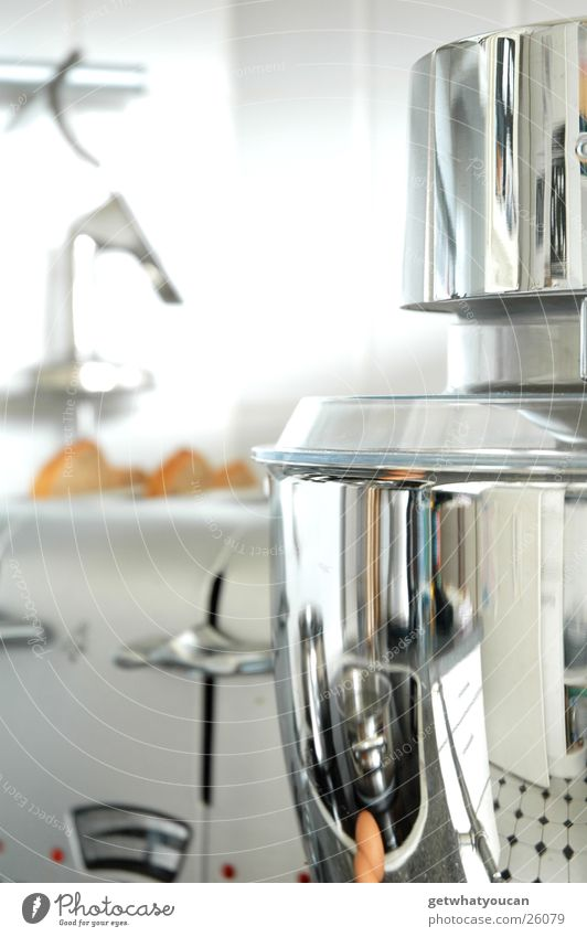 Bling bling Kitchen Machinery Light Aluminium Chrome Glittering Blur Mechanics Pot Containers and vessels Tile Bright Reflection Light (Natural Phenomenon)