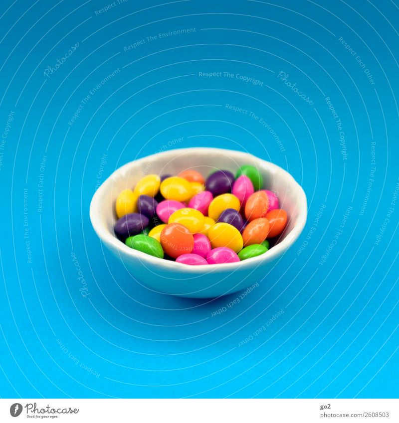 Colourful pills/sweets Food Candy Chocolate Nutrition Bowl Esthetic Happiness Uniqueness Delicious Round Sweet Multicoloured Voracious Lack of inhibition