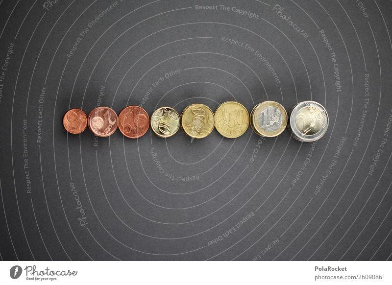 #A# Coin Growth Art Esthetic Münzenberg Many Euro Evolution Development Growth-enhancing Euro symbol European Central Bank Loose change 1 2 5 10 20 Save Money