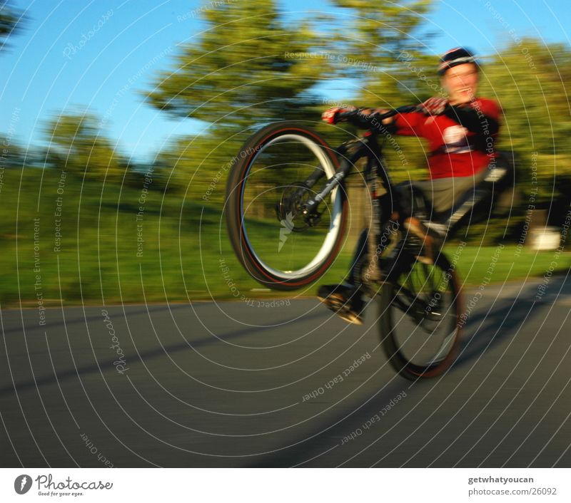 Sky Sun Movement Bright Bicycle Happiness Wheel Dynamics Helmet Sports ground Extreme sports
