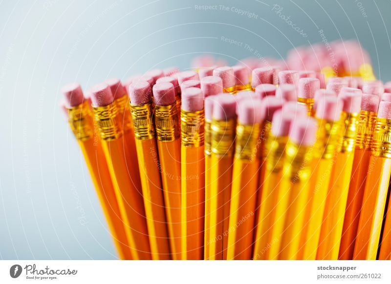 Pencils Yellow Pink Stationery Object photography Eraser