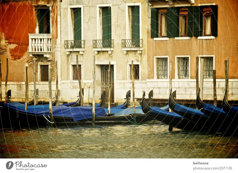 Venice in colourful Vacation & Travel City trip Summer Summer vacation Italy Town Port City Downtown Old town Deserted House (Residential Structure)