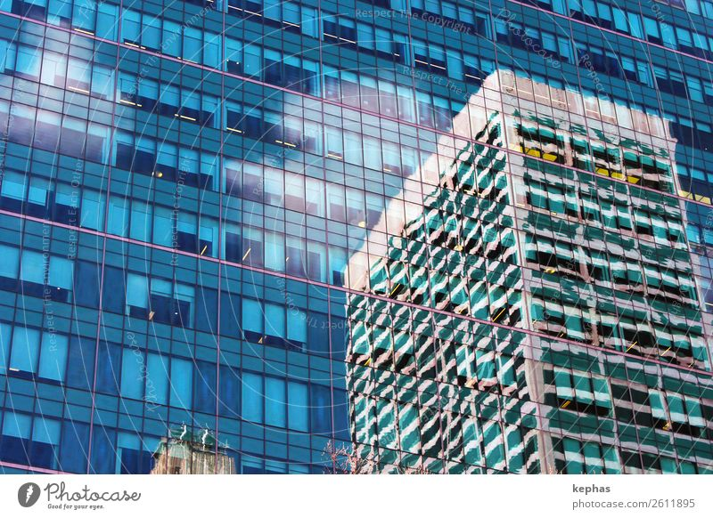 Blue Town Green House (Residential Structure) Window Architecture Building Business Facade Modern High-rise Glass Esthetic Manmade structures City trip Downtown