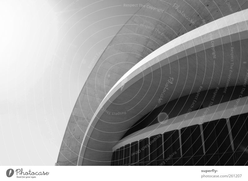 Auditorium Tenerife Elegant Design Tourism Sun Art Architecture Culture Concert Opera house Santa Cruz de Teneriffa Europe Town Deserted