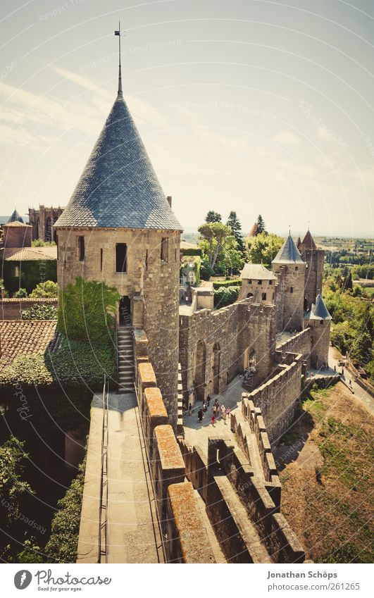 Carcassonne X Vacation & Travel Trip Adventure Far-off places Freedom Sightseeing City trip France Southern France Town Outskirts Old town Manmade structures