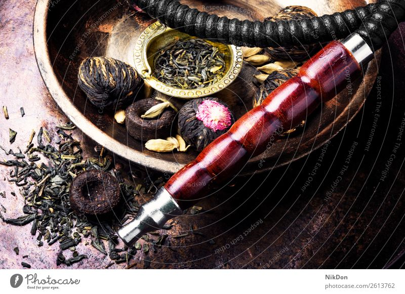 Hookah with aroma tea hookah shisha smoking tobacco nargile smoke nicotine east relaxation fruit arabic mouthpiece pipe fragrant pastime hookah with tea style