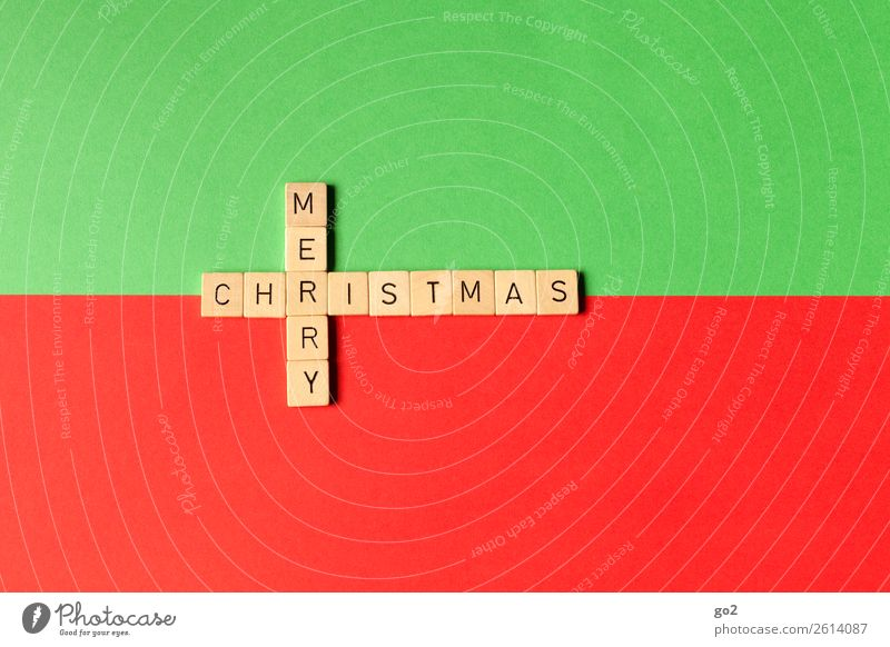 Merry Christmas Leisure and hobbies Playing Board game Christmas & Advent Decoration Sign Characters Green Red Happy Happiness Anticipation Idea Inspiration